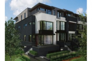 modern toronto homes end unit 300x200 The Truth About Toronto Real Estates