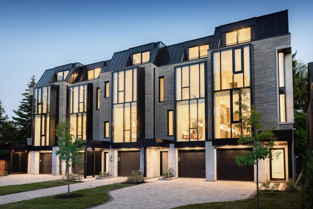 The Chaplin modern townhomes