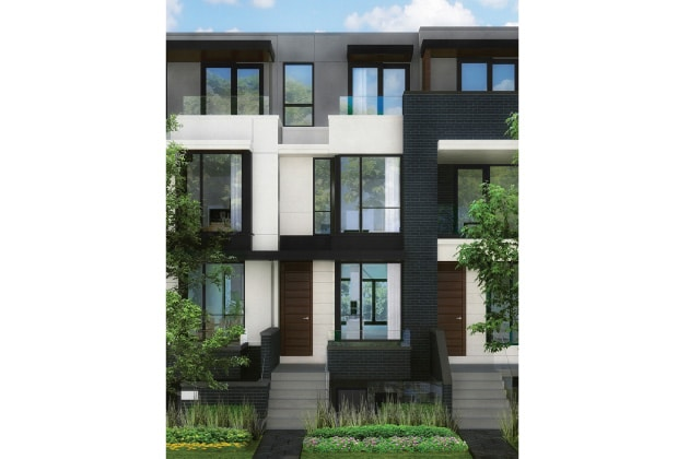 Block Modern Homes For Sale At College And Ossington