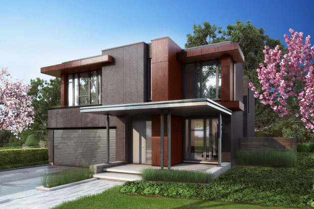 Crafthouse Modern Homes In Toronto At Bayview Village Paul